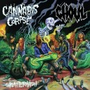 CANNABIS CORPSE / GHOUL - Split - CD