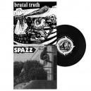 BRUTAL TRUTH / SPAZZ - Split - EP 7